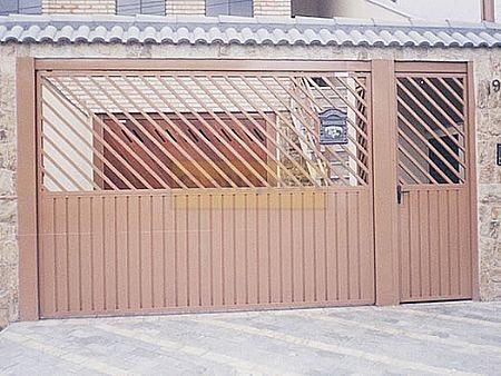 Portão De Chapa ATL-01