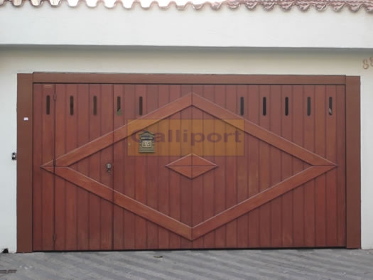Portão De Madeira AMV-02
