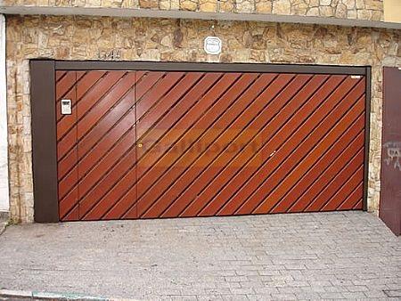 Portão Deck de Madeira Diagonal DMD-03