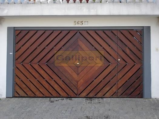 Portão Deck de Madeira Losango DML-02 - 1