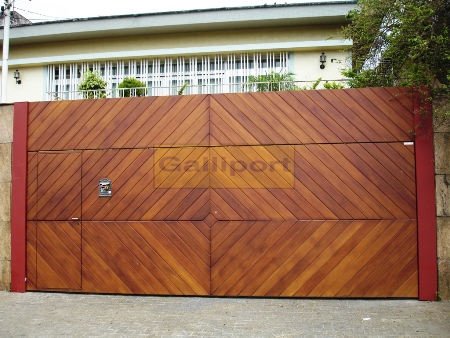 Portão Deck de Madeira Losango DML-02