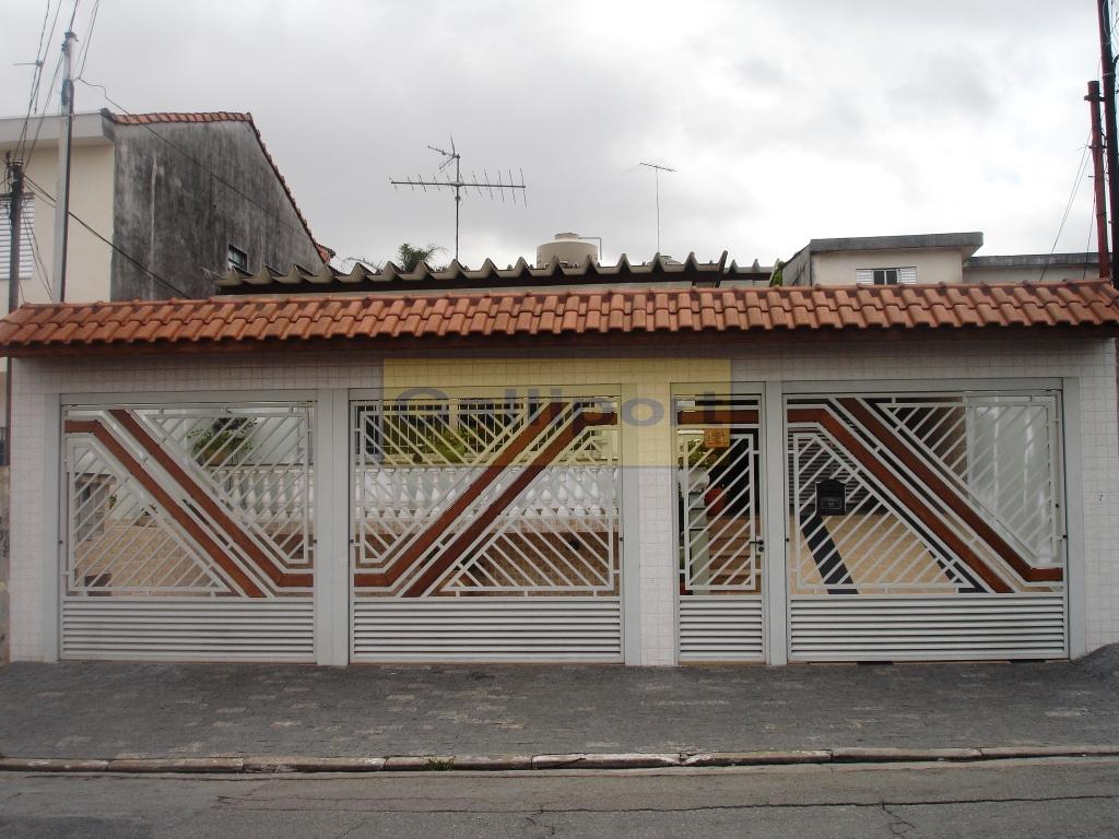 Portão Tubular Com Madeira ATM-13